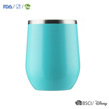 Factory printable mugs wholesale stainless steel coffee cup stemless tumbler handle with lid