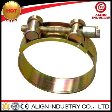 clamshell clamp high tension hose clamp single bolt clamp