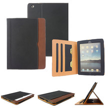 Leather Stand Flip Tablet Light Case for iPad 2 3 4 5 Mini 9.7 Inch Durable High Quality Protection Back Cover Case for iPad