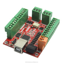 CNC USB Card MACH3 100Khz Breakout Board 4 Axis Driver Motion Controller for Stepper Motor Engraving Machine