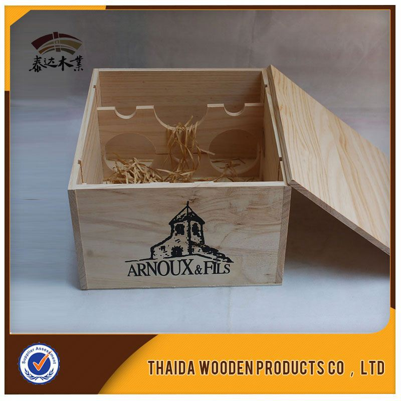 Wine Handle Box With Window Hot New Product For 2015