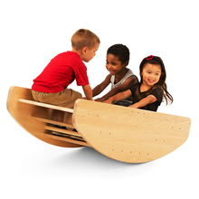 Wooden baby toys rocking boat With Long-Term Service