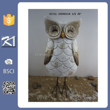 art craft wholesale decorative ceramic owl sculpture