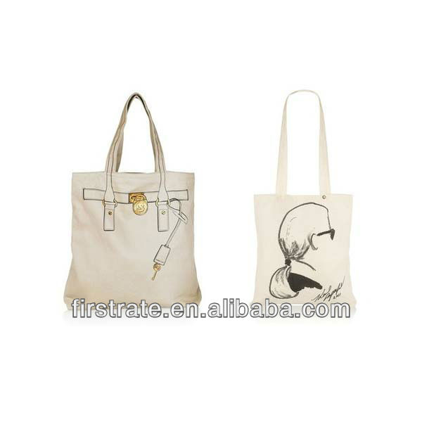 2013 New style hot selling canvas shopping bags with wheels