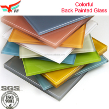 Modern Decorative Opaque Colored Glass For Interior