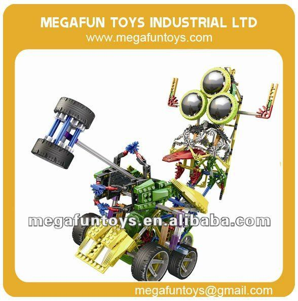 610pcs Knex-Robot Series 3 in 1 Kids Big Building Blocks