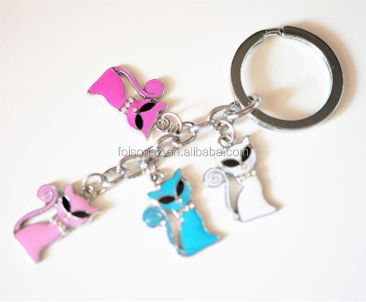 wholesale metal dog tag with key chain