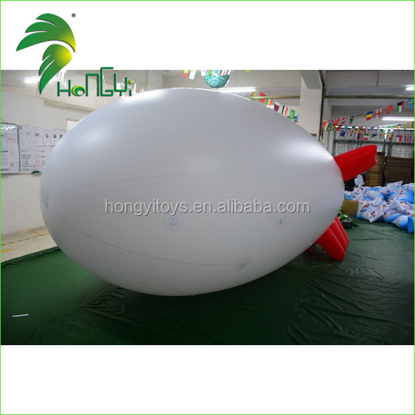 Cheap Inflatable Airship , Inflatable Zeppelin Balloon For Promotion