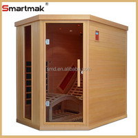 2014 New Luxury far Infrared sauna room, fashion nudist sauna room,far infrared tourmaline sauna room