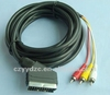 Factory classical audio amplifier rca wire cable