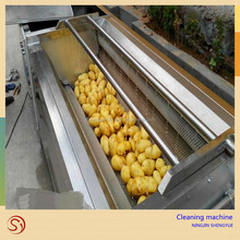 Factory Industrial washing machine Fruit Brush cleaning machine fruits and vegetables