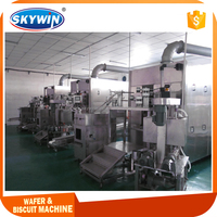 Sugar Egg Roll Cone Wafer Stick Making Machine With Good Price