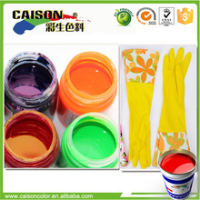 Water based color pigment for latex gloves stain