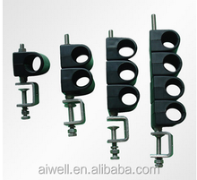Cored Type feeder fixture for antenna accessaries
