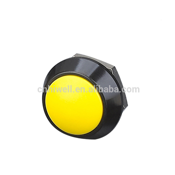 Allumen anti-vandal metal pushbutton switch 12mm diameter