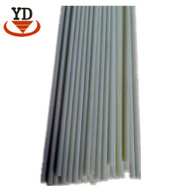 6mm 10mm Solid Fiberglass Pole Rod, FRP GRP Rectangular Tube Pipe Price, Fiber Glass Reinforced Plastic Flat Stick Strip Profile