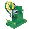 Vertical thread rolling machine flat die thread making machine