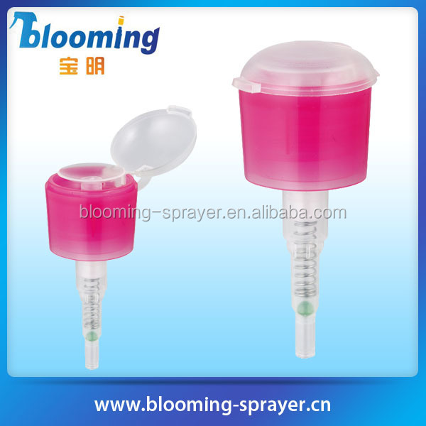magic nail polish remover with soft brush plastic hand wash bottle pump