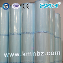 medical sterilization paper roll package for steam, EO& Form