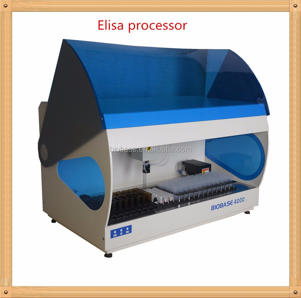 4 micro-plate Fully automated ELISA processor (BIOBASE2000)
