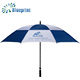 Top quality manual open double layer windproof golf umbrella