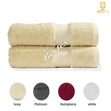 Good quality Thick Lint-free Plain 100% Egyptian supplies custom logo cotton face towels