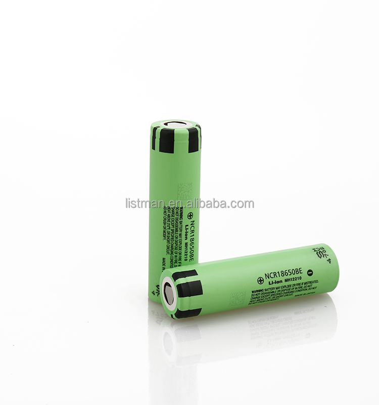 18650 BE 3200mAh 3.7V Li-ion rechargeable battery with flat top