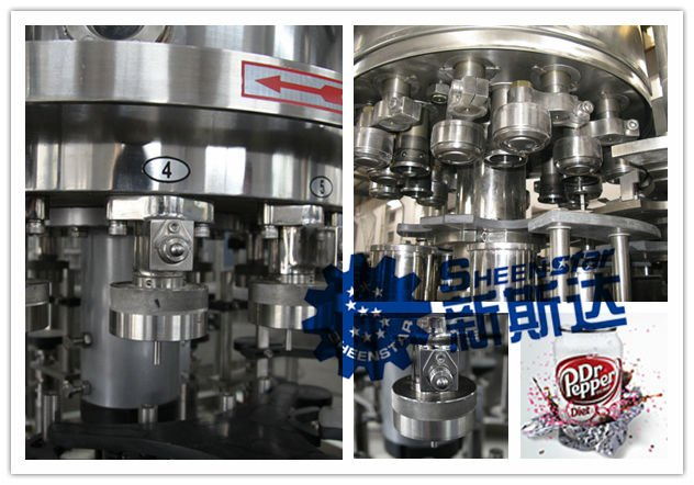 SHEENSTAR New Filling Machine For Beverage Tin Can