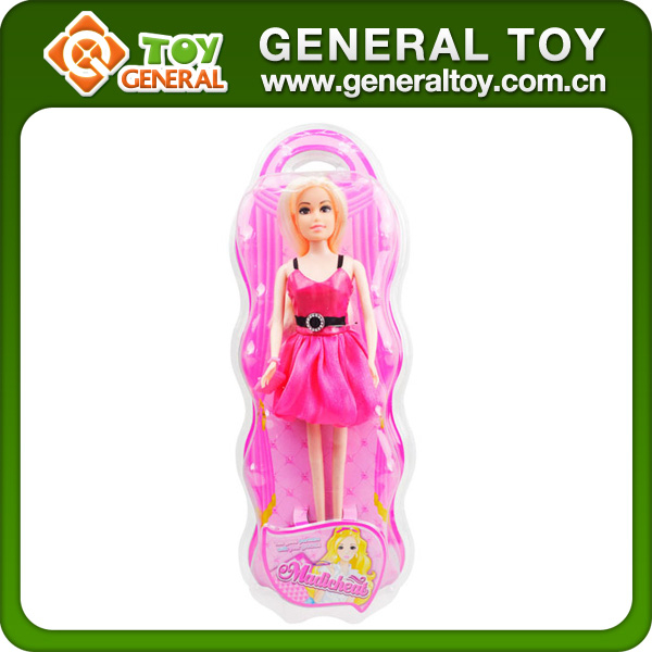 11.5 Inch Fashion Doll Full Silicone Beautiful Girls Kids Toys Doll