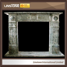 Marble cultured continental fireplaces