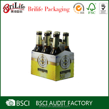 Elegant retail 6 bottle cardboard wine box supplier