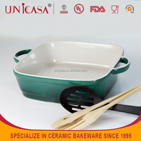UNICASAhigh quality ceramic pan / plate / dish baking cake mold
