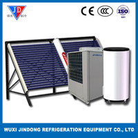 heat pump solar energy central heating system flooring heating and hot water