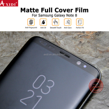 Wholesale Price Anti Hit Full Cover Up Screen Protector Guard For Note 8 Matte Film