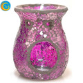 glass shaped lamp candle holder glass oil burner warmer for wedding