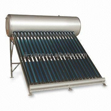 Integrated Pressurized Bearing Solar Power livestock Water heater 14mm stainless steel type