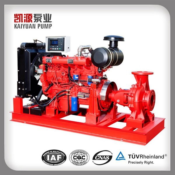 EDJ Fire Fighting Pump Package Diesel+Electric+Jockey+Control Panel Fire Pump System