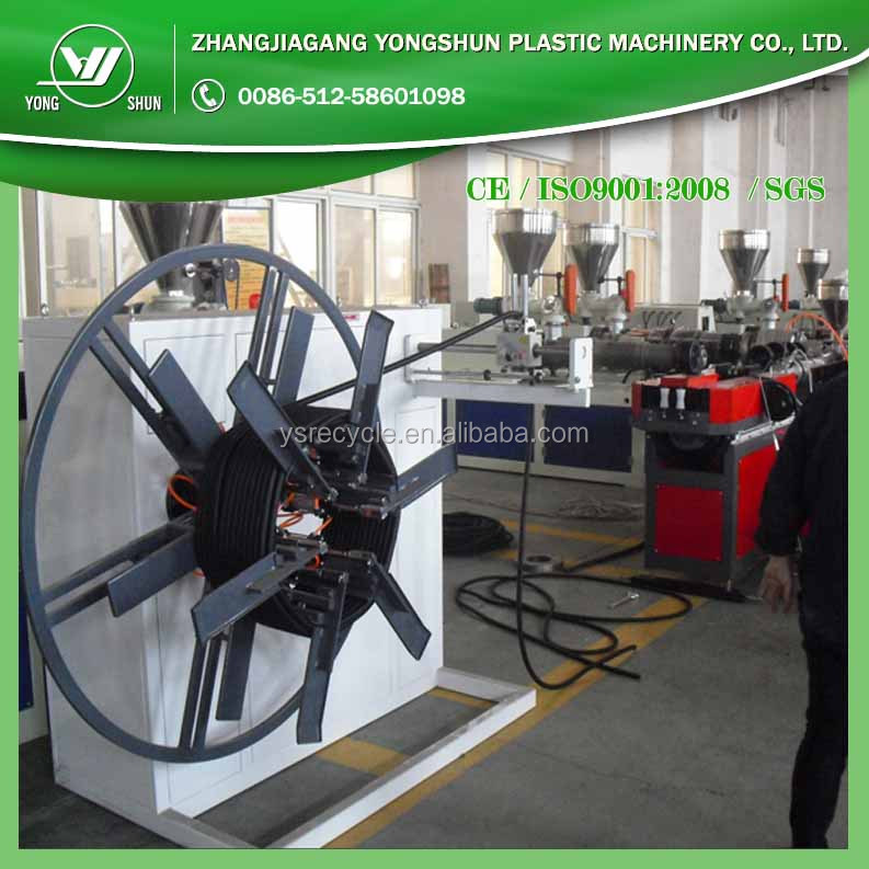 Automatic SPS 16-110mm plastic tube windder