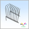 Chrome Plated or Powder Coated Table Counter Office Document Holder Rack for File