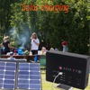 Portable solar inverter generator 200w solar power station for camping