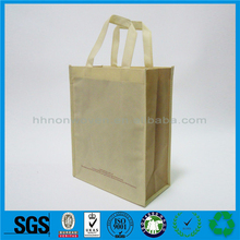 Hot selling recycled pet bottles non woven bag