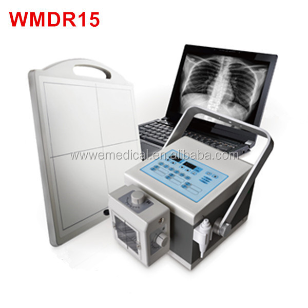 WMDR15 portable x ray machine imported tube DR x ray machine portable and movable digital x ray machines