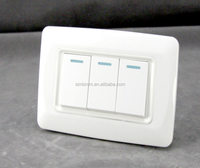 High quality 1gang 2 way electric magic switches,1 gang 1 way light control switch