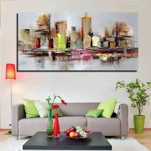 HD Print Canvas Painting Abstract Oil painting on Canvas Wall Art Bedroom Living Room Sofa Home Decoration