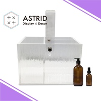 Standard Acrylic Bath Sets Display Case with Embossing