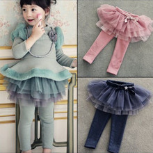 Wholesale Girls Leggings Children Clothing Skirt Pants Kids Trousers Pantalon