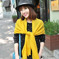 2015 winter Pashmina warm scarf shawl yellow the best accessories