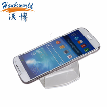 Shoplifting stand acrylic cell phone charger display