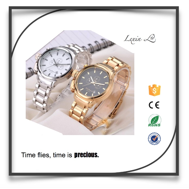 crown on left 3 o'clock position special designed left-handed unisex watch