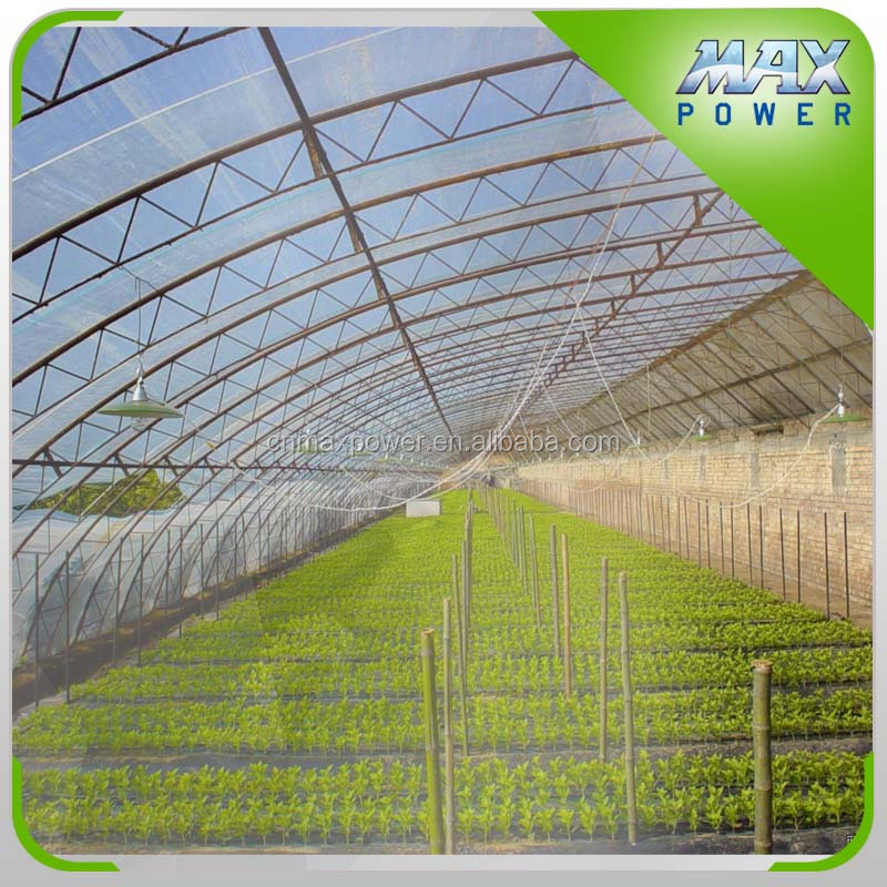 Solar hydroponic greenhouse for agricultural